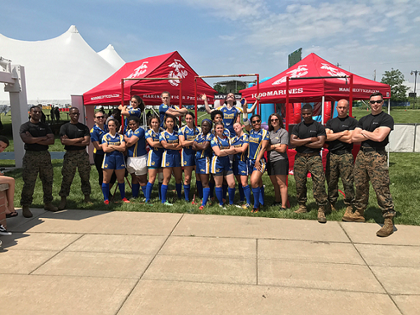 Marines and Rugby