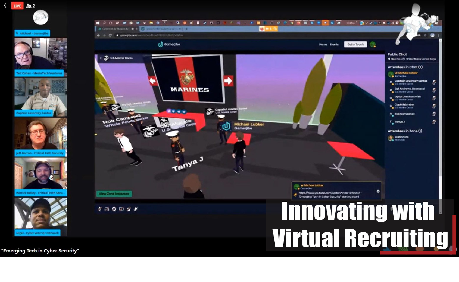 Innovating with Virtual Recruiting