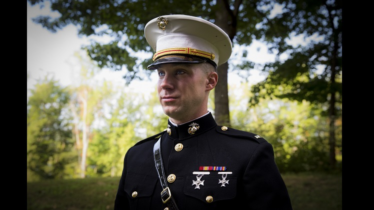 Marine from Boston takes advantage of Enlisted Commissioning Program