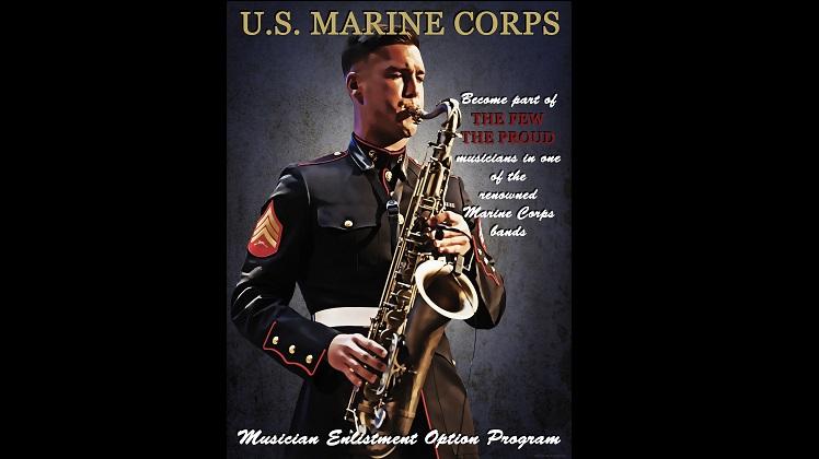 Vintage-inspired Musician Enlistment Option Program photo illustration