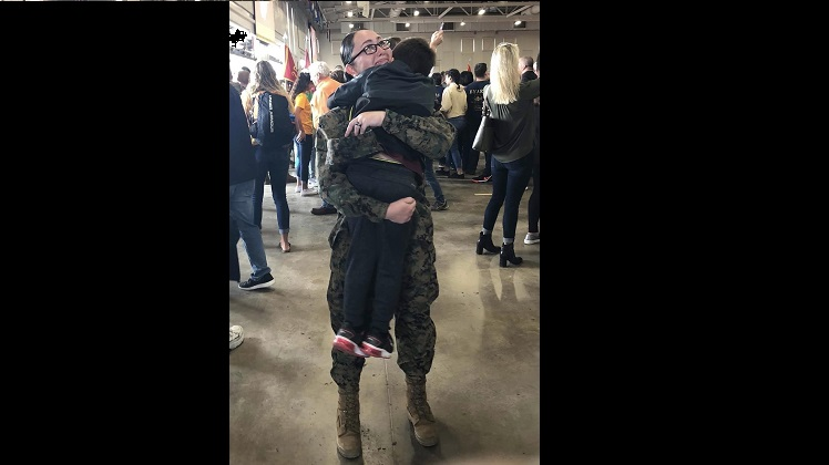 Mother's love inspires USMC enlistment