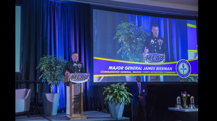 2019 MEAC Hall of Fame Induction Brunch Features Marine Leaders