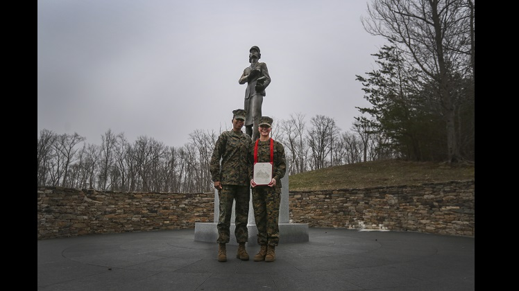 Marine from Wisconsin continues legacy of women in the Marine Corps